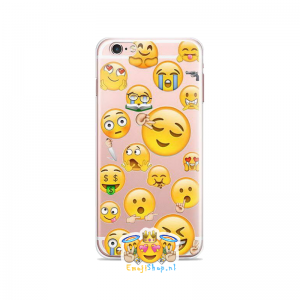 Crazy Faces Emoji Hoesje