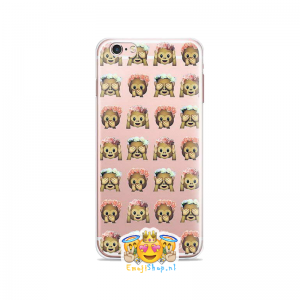 Mixed Floral Money Emoji Hoesje