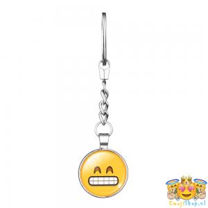 grinning-emoji-sleutelhanger-metaal-geheel