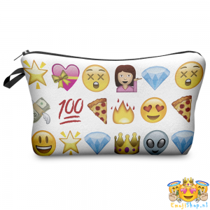 white-princess-emoji-etui-toilettas-makeuptas