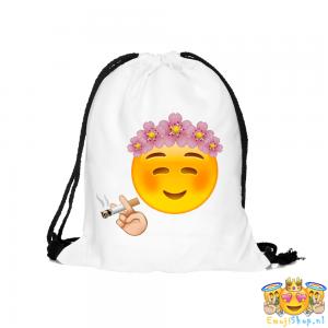 Floral-Blush-Emoji-Touwtjestas-wit-voorkant