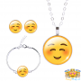 blush-emoji-ketting-set