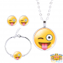 crazy-emoji-ketting-set