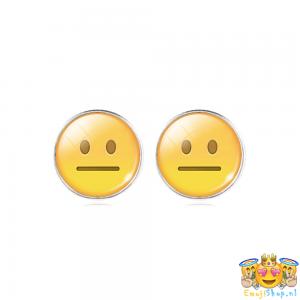 expressionless-emoji-oorbellen