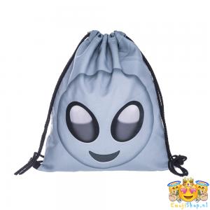 Alien-Emoji-Touwtjestas-voorkant