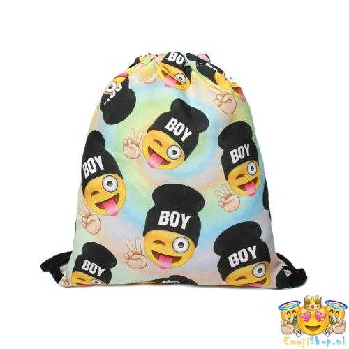Crazy-Boy-Emoji-Touwtjestas-voorkant