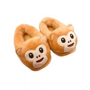 monkey-emoji-sloffen-schuin-voor