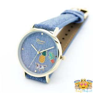 geneva-platinum-denim-look-light-emoji-horloge-nieuw