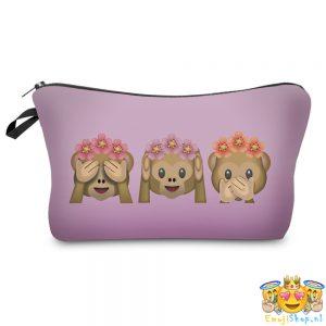 ombre-floral-monkeys-emoji-etui