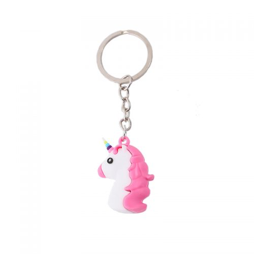 xiaojingling-6-styles-cartoon-unicorn-keychain-eco-pvc-soft-rubber-keyring-3d-stereo-colorful-unicorn-bag