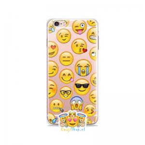 Random Faces Emoji Hoesje