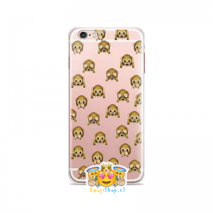 Wise Monkeys Emoji Hoesje