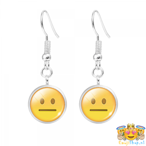 Neutral-Emoji-Oorhangers