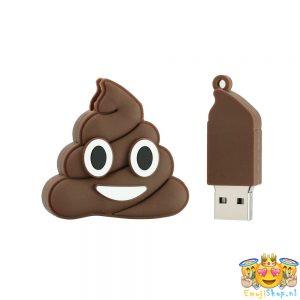 poop-emoji-usb-stick-16-gb-staand-uit-elkaar